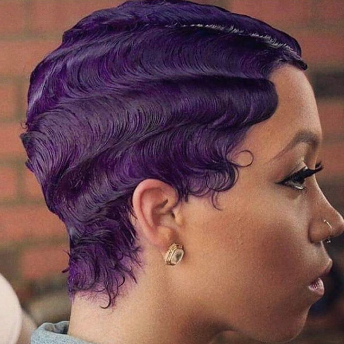 Hairstyle Ideas For Short Natural Hair – Essence For Purple And Black Short Hairstyles (View 14 of 25)
