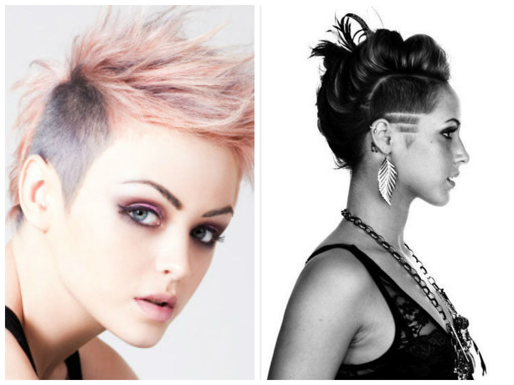Hairstyle Ideas With Shaved Sides – Hair World Magazine Regarding Short Hairstyles With Both Sides Shaved (View 13 of 25)