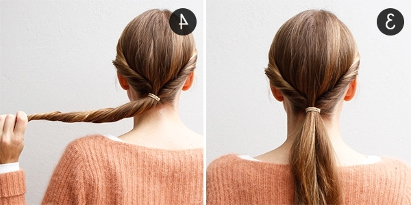 Hairstyle In A Hurry: A 5 Minute Updo | More Regarding 2 Minute Side Pony Hairstyles (View 6 of 25)