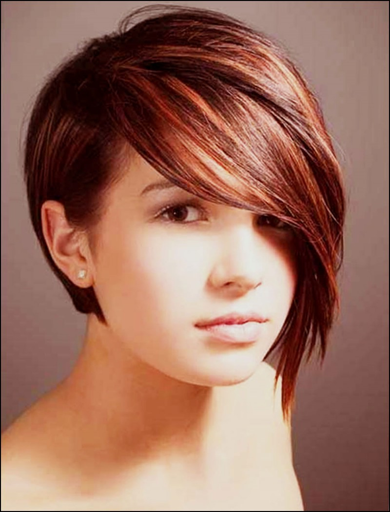 Hairstyle Long Face Short Haircuts For Round Face Thin Hair Ideas For Long Face Short Haircuts (View 22 of 25)