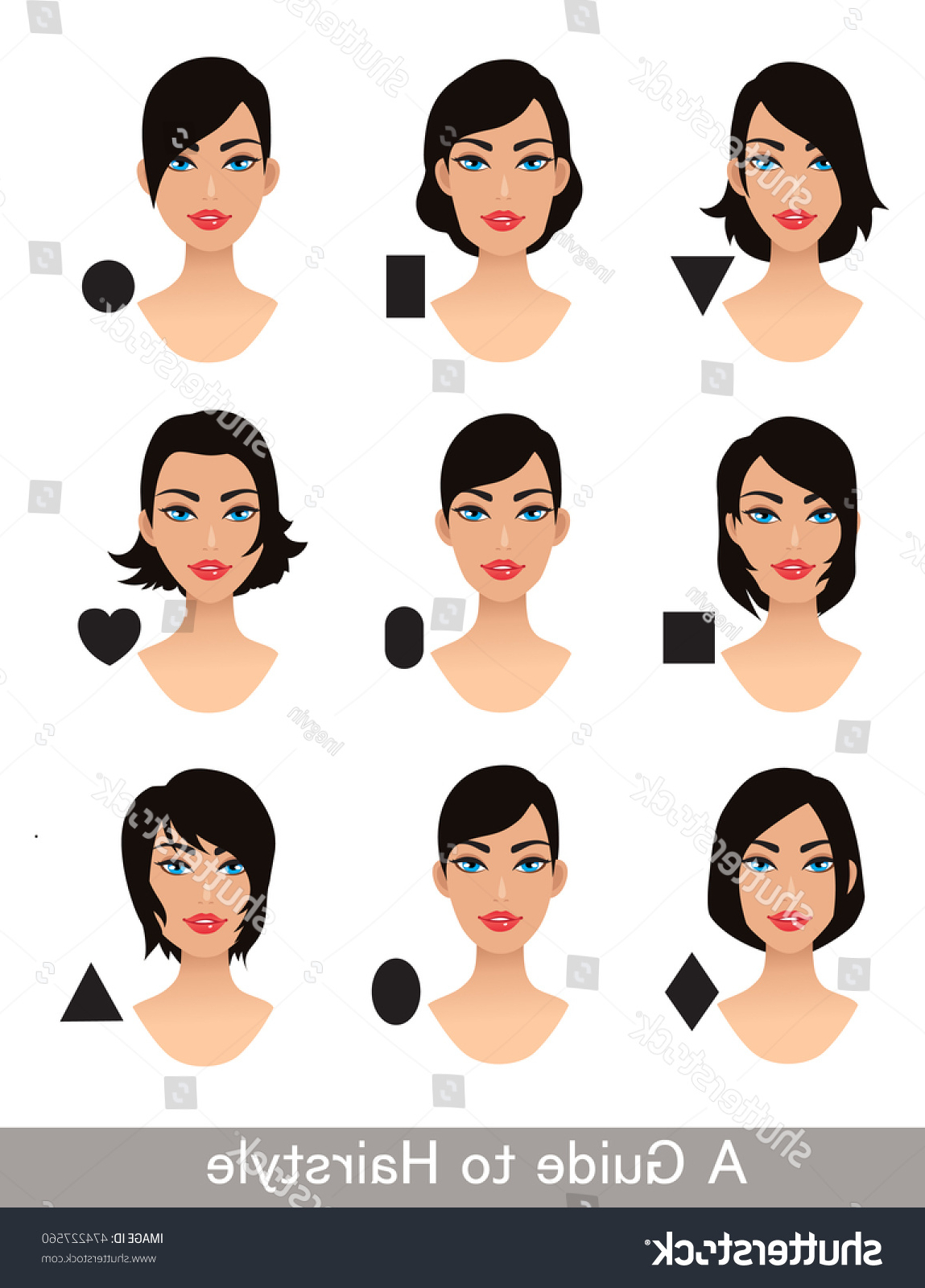 Featured Photo of Short Haircuts For Different Face Shapes