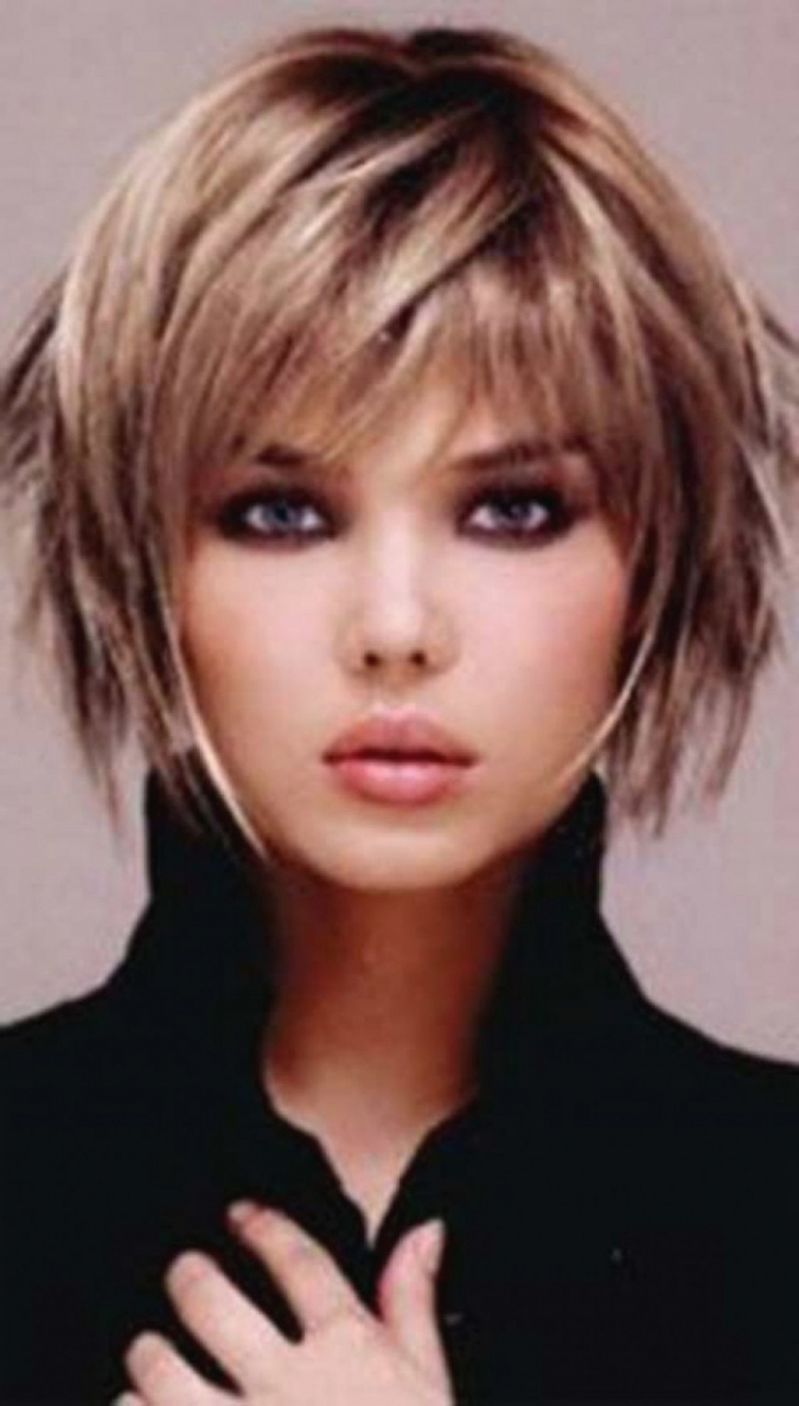 Hairstyles Fine Thin Hair Short Haircuts For Fine Thin Hair Oval Pertaining To Short Haircuts For Fine Hair Oval Face (View 24 of 25)