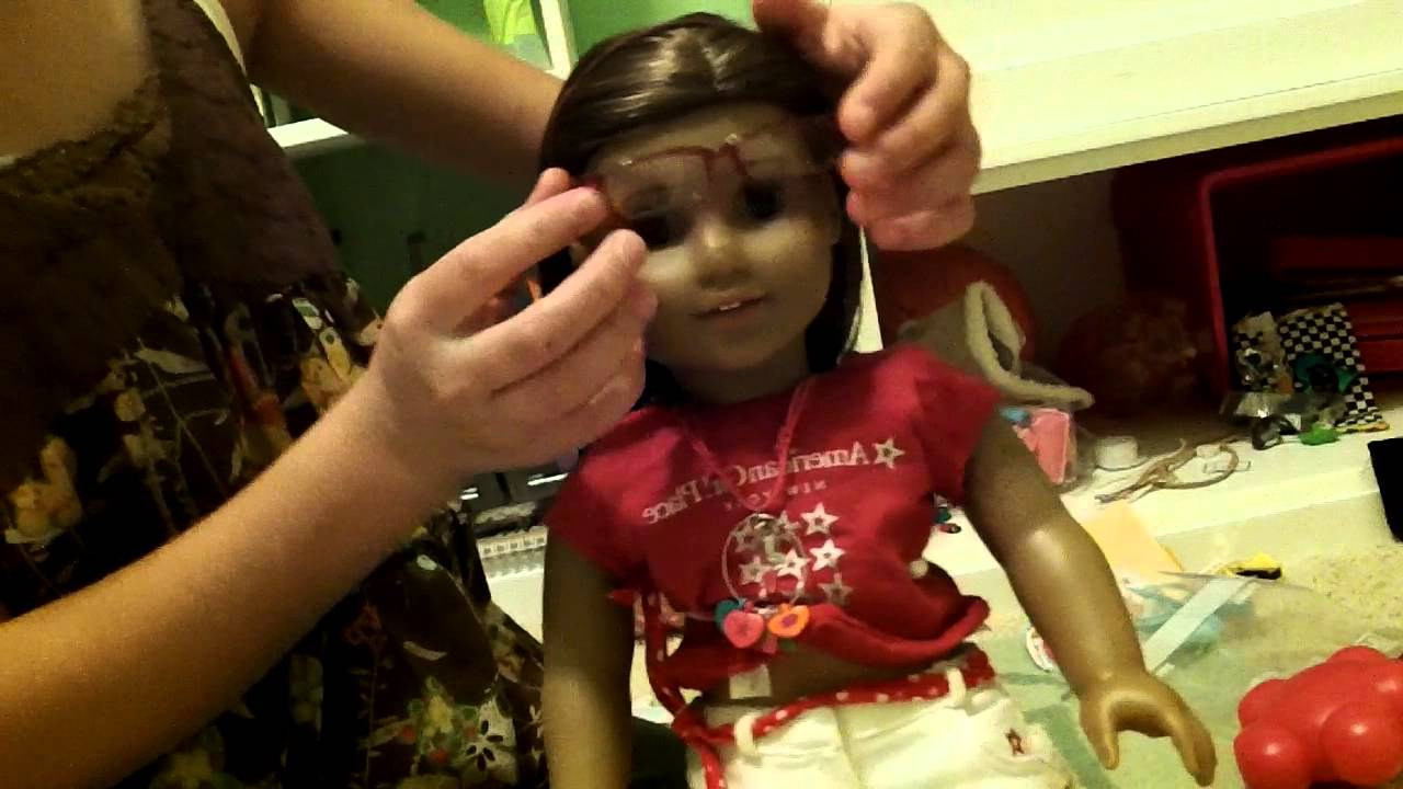 Hairstyles For American Girl Dolls With Short Hair – Youtube Pertaining To Hairstyles For American Girl Dolls With Short Hair (View 2 of 25)