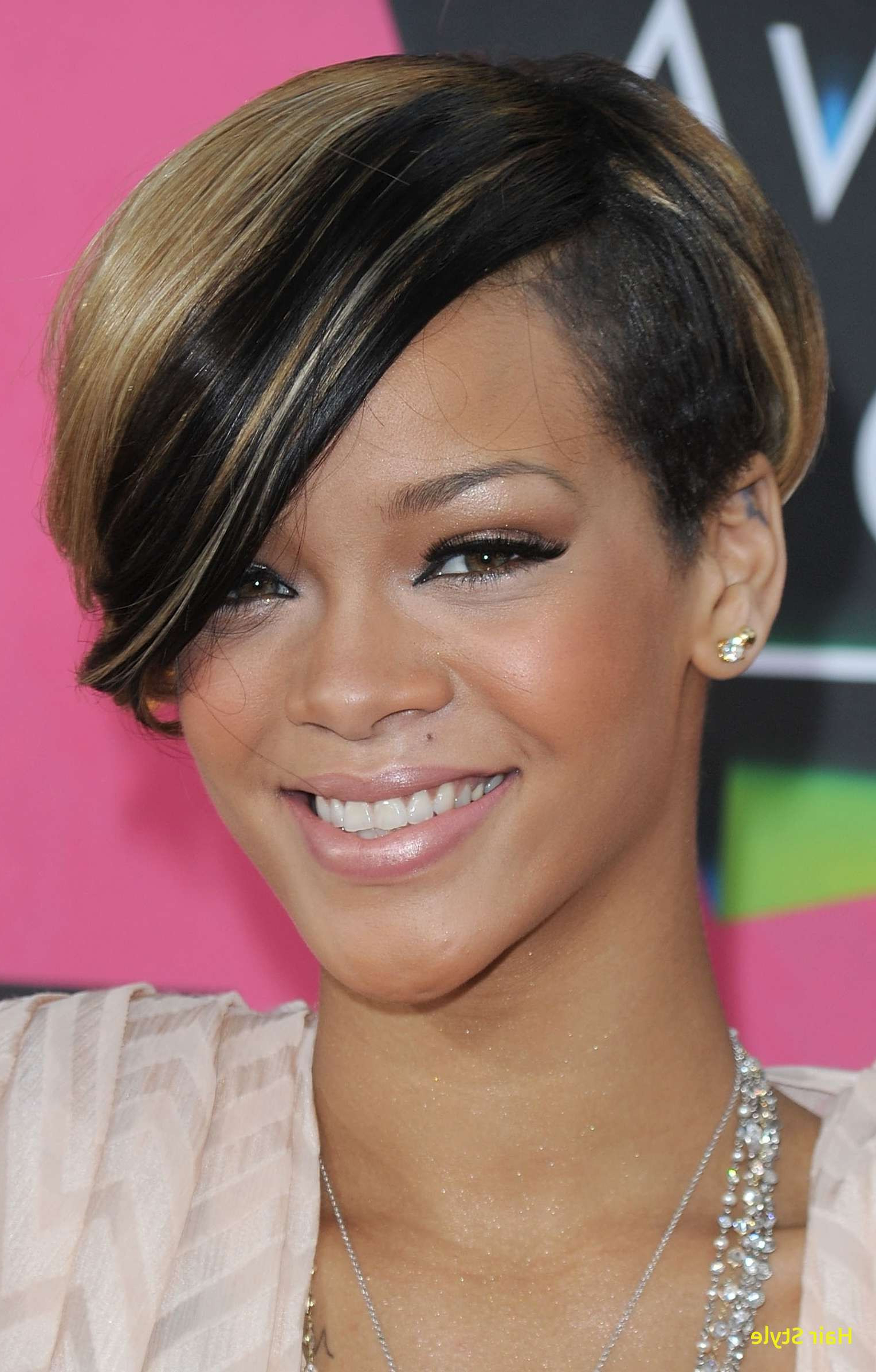 Hairstyles For Black Women With Round Faces Gallery New Luxury Short Throughout Short Hairstyles For Round Faces African American (View 25 of 25)