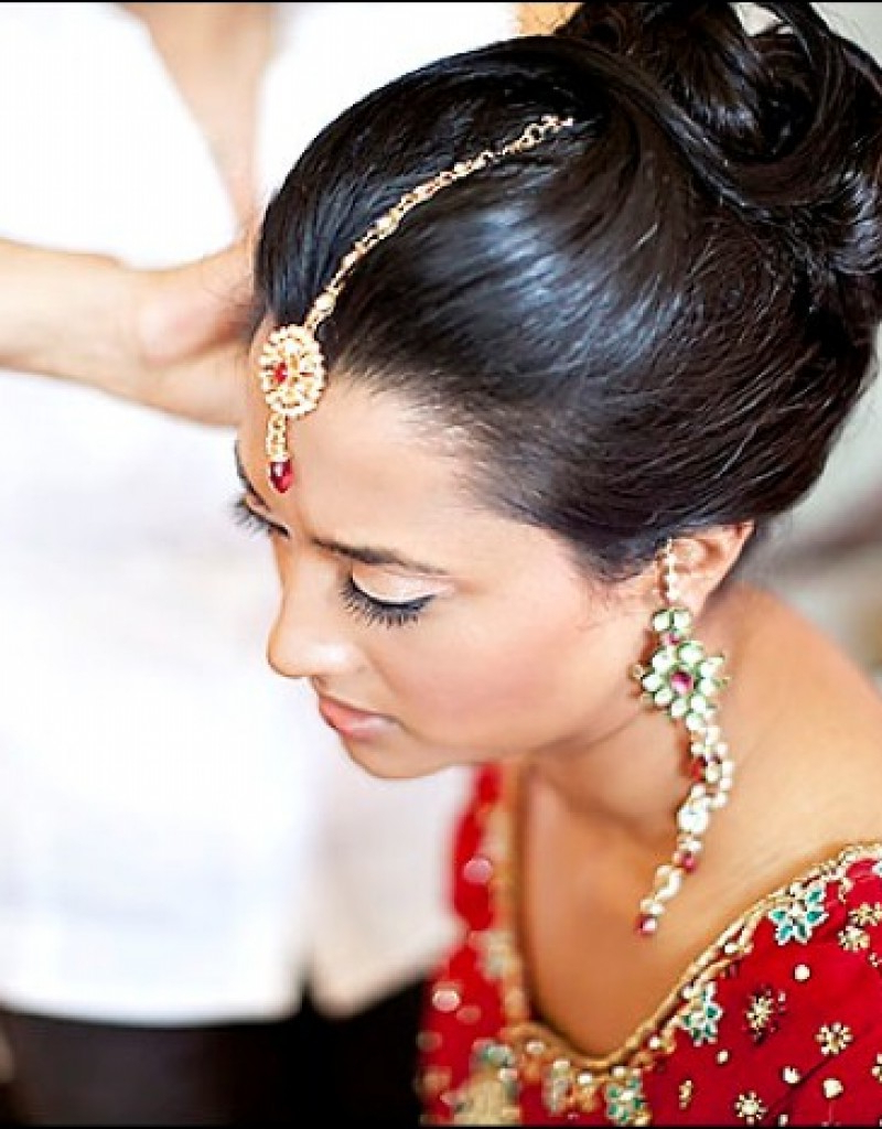 Hairstyles For Indian Wedding Guest – Wedding Hairstyles Inside Short Hairstyles For Indian Wedding (View 6 of 25)