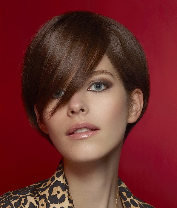 Hairstyles For Long Faces Inside Short Red Haircuts With Wispy Layers (View 17 of 25)