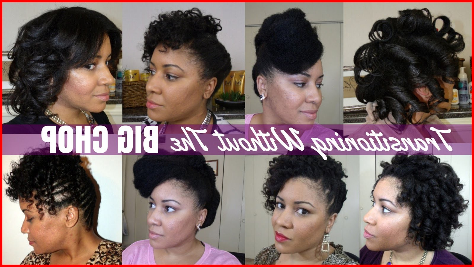 Hairstyles For Relaxed Hair Without Heat 158683 How To Transition To Pertaining To Short Haircuts For Transitioning Hair (View 9 of 25)