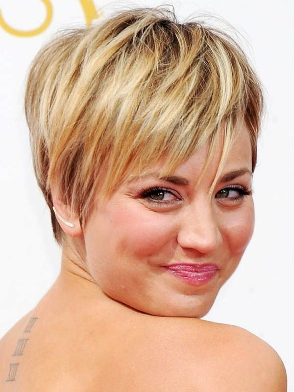 Hairstyles For Round Chubby Face Shapes Within Short Haircuts For Chubby Face (View 21 of 25)