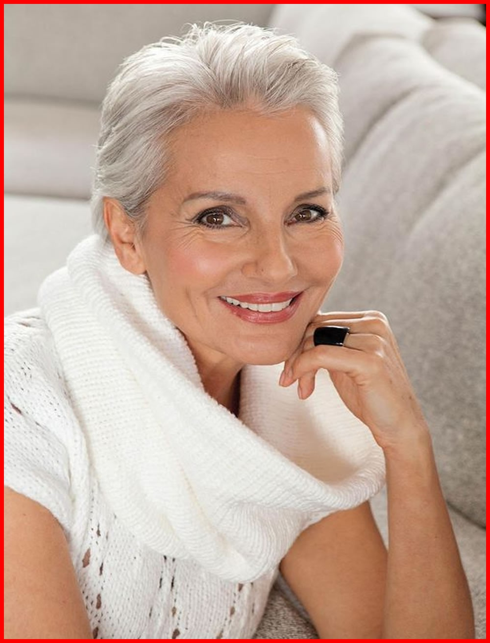 Hairstyles For Short Gray Hair 239649 2018 Short Haircuts For Older Pertaining To Short Hairstyles For Mature Woman (View 25 of 25)