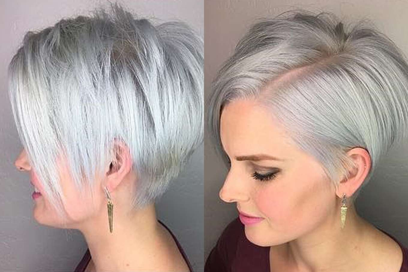 Hairstyles For Short Grey Hair Short Hairstyles With Regard To Short Hairstyles For Salt And Pepper Hair (View 11 of 25)