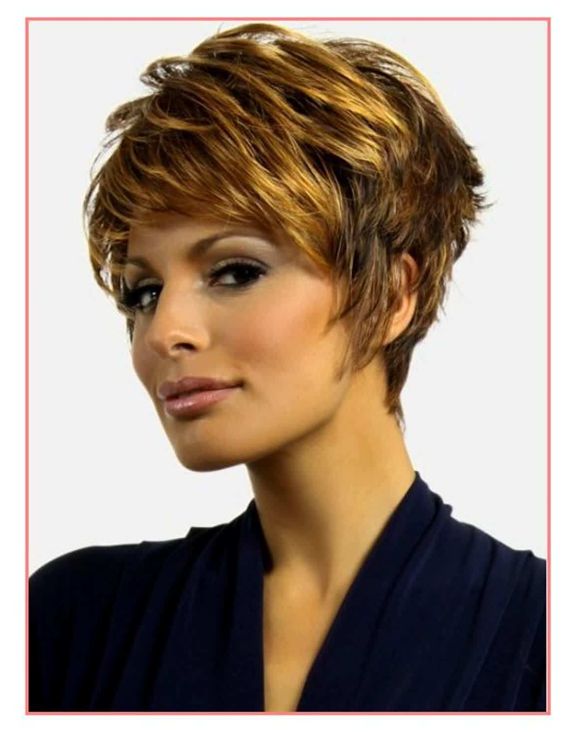 Hairstyles For Thick Short Hair Luxury Short Hairstyles For Thick Within Oval Face Short Hair (View 23 of 25)