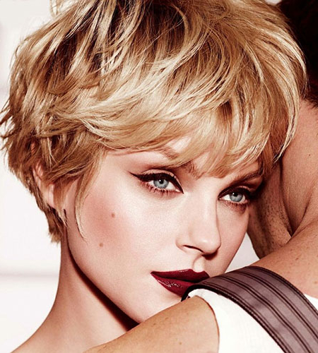 Hairstyles For Wavy Short Hair   Short Hairstyles 2017 – 2018   Most For Short Wavy Haircuts With Messy Layers (View 21 of 25)