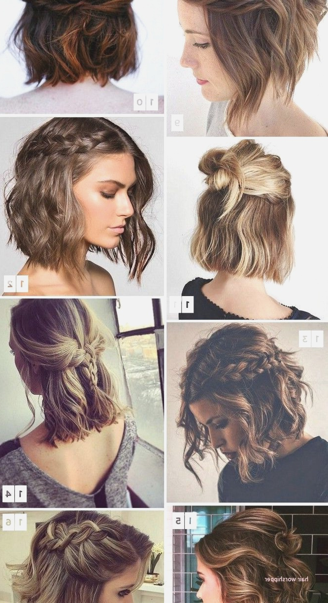 Hairstyles For Weddings Short Hair For Guests New Stupendous Short Inside Hairstyles For Short Hair Wedding Guest (View 4 of 25)