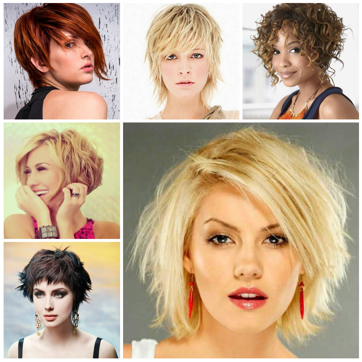 Hairstyles For Women 2019, Haircuts For Long Short And Medium Hair Inside Messy Short Haircuts For Women (View 14 of 25)