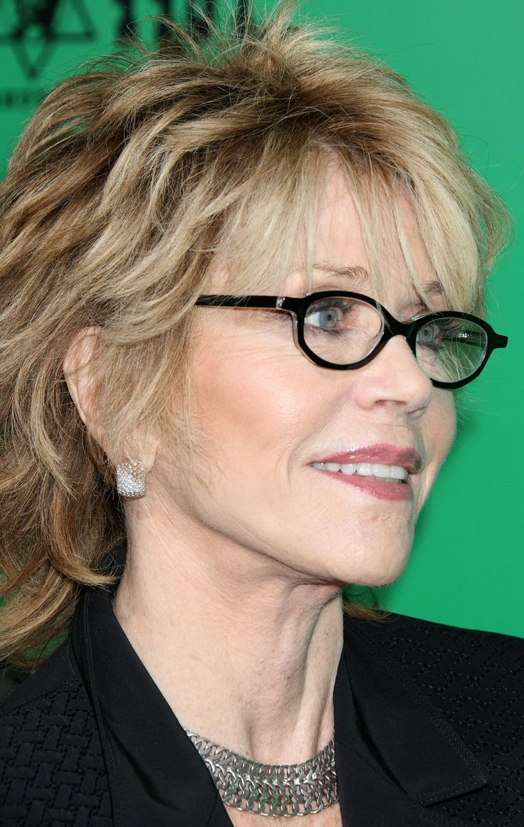 Hairstyles For Women Over 50 With Glasses | Short Hair Styles Inside Short Haircuts For Women Who Wear Glasses (View 4 of 25)