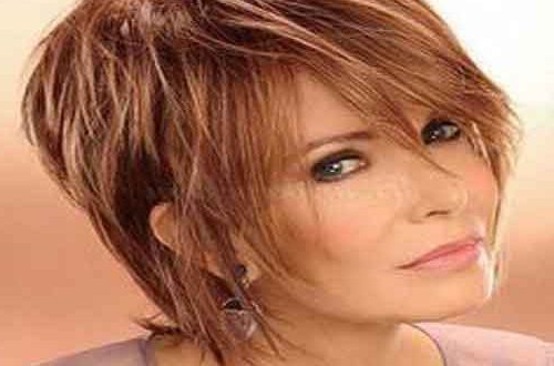 Hairstyles For Women Over 60 – World Wide Lifestyles Within Tousled Razored Bob Hairstyles (View 22 of 25)