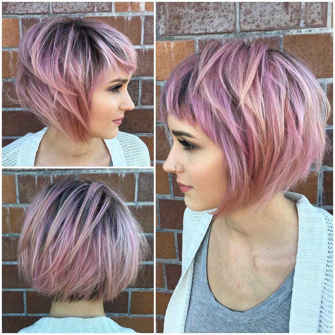 Hairstyles For Women With Thinning Hair In Front 40 Best Short Within Short Hairstyles For Fine Hair Over  (View 6 of 25)