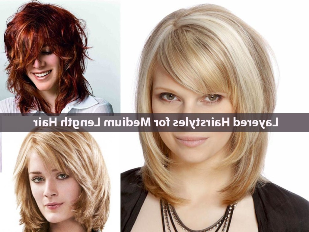Hairstyles Medium Short Length Layered – Hairstyle For Women & Man Intended For Short To Mid Length Layered Hairstyles (View 4 of 25)