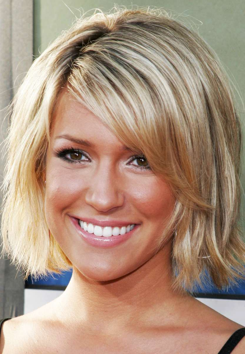 Hairstyles Short Hair – Short Hairstyles 2018 Within Medium Short Haircuts For Thick Hair (View 19 of 25)