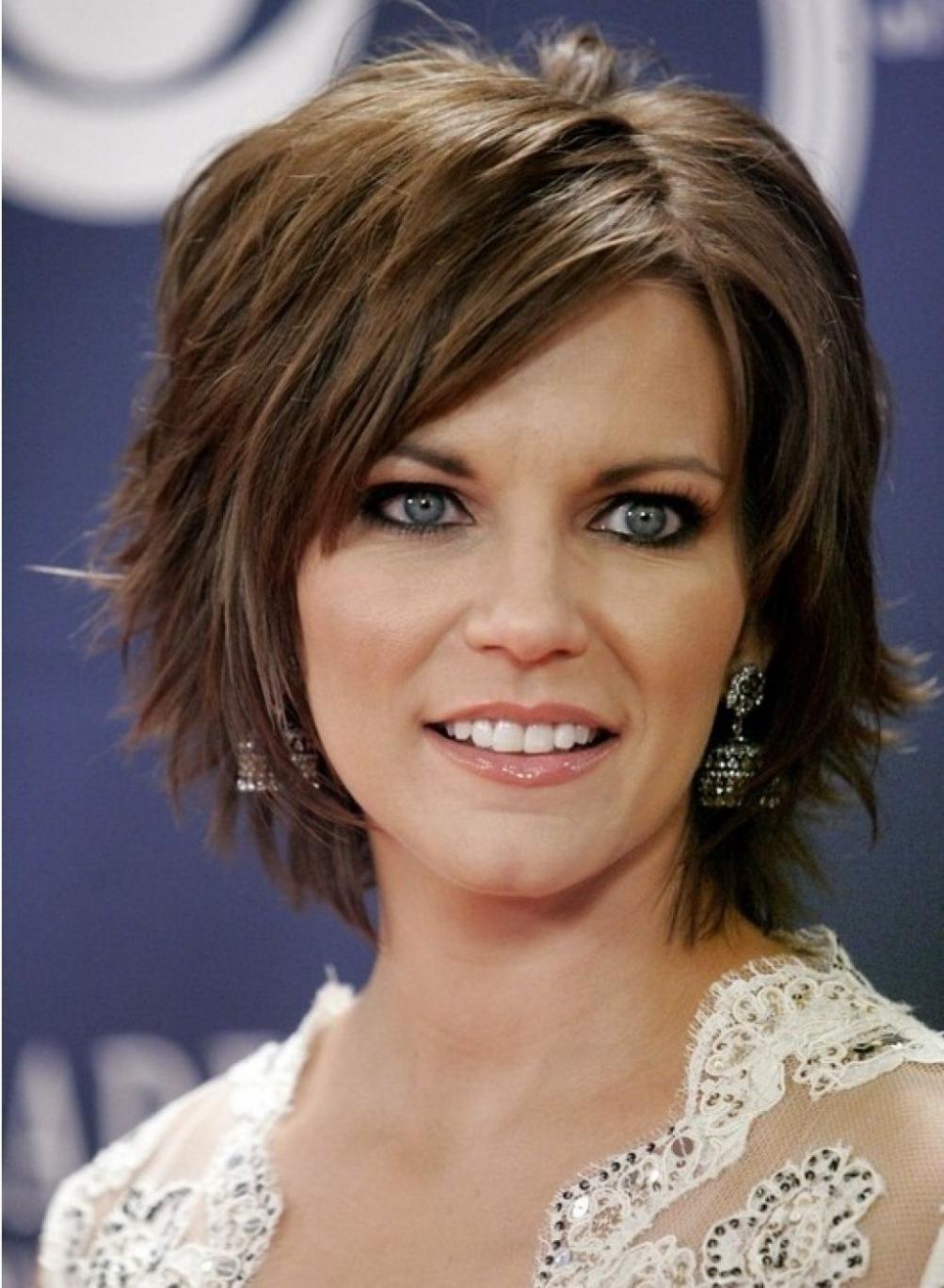 Hairstyles ~ Short Medium Layered Haircuts Short Layered Haircut Throughout Short To Medium Haircuts (View 15 of 25)