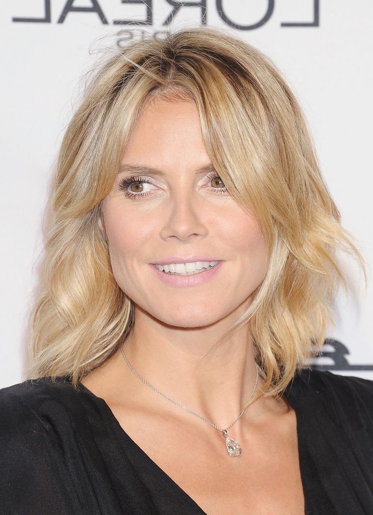 Hairstyles That Make You Look 10 Years Younger Regarding Heidi Klum Short Haircuts (View 7 of 25)