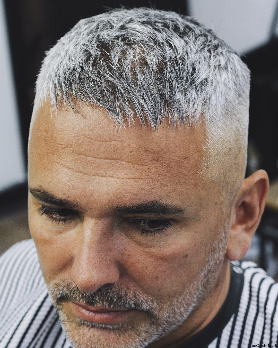 Hairstyles – The Most Crazy Hairstyles » Mr Liptrot Short Haircuts Inside Short Haircuts For Salt And Pepper Hair (View 14 of 25)