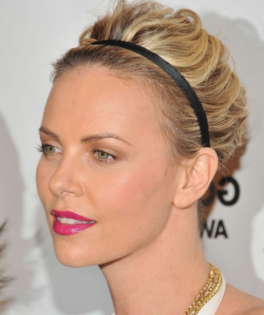 Hairstyles With Headbands For Short Hair Formal Hairstyles For Short For Short Haircuts With Headbands (View 15 of 25)