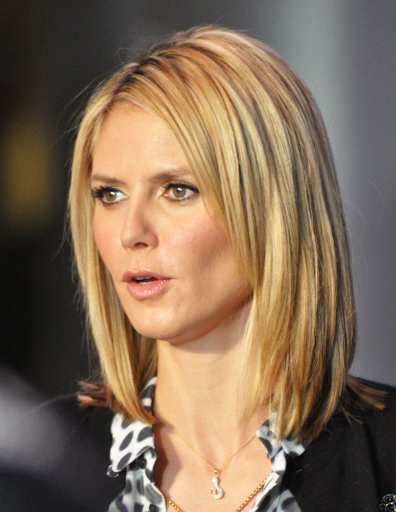 Heidi Klum Rarely Lets Her Hair Too Long Because Of Agility Offered With Regard To Heidi Klum Short Haircuts (View 19 of 25)