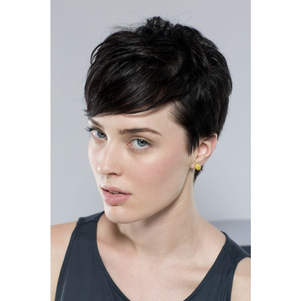 Hexagon Stud Earrings   Haircuts And Short Haircuts With Regard To Short Haircuts For Studs (View 4 of 25)