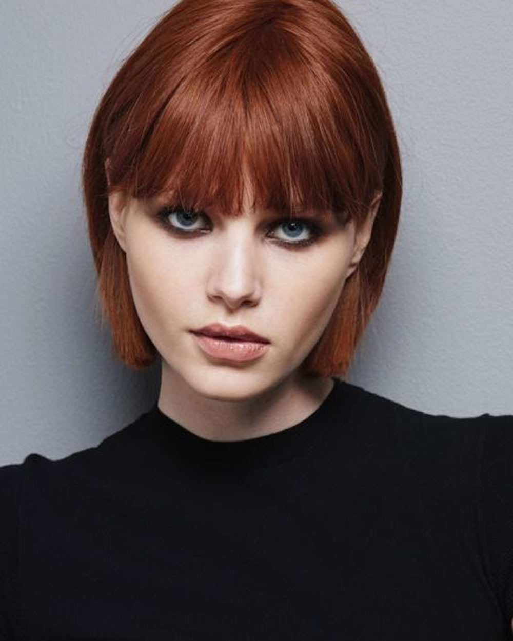 Hey Ladies! Best 13 Short Haircuts For Round Faces Inspirations You Inside Short Hairstyles With Bangs For Round Face (View 5 of 25)