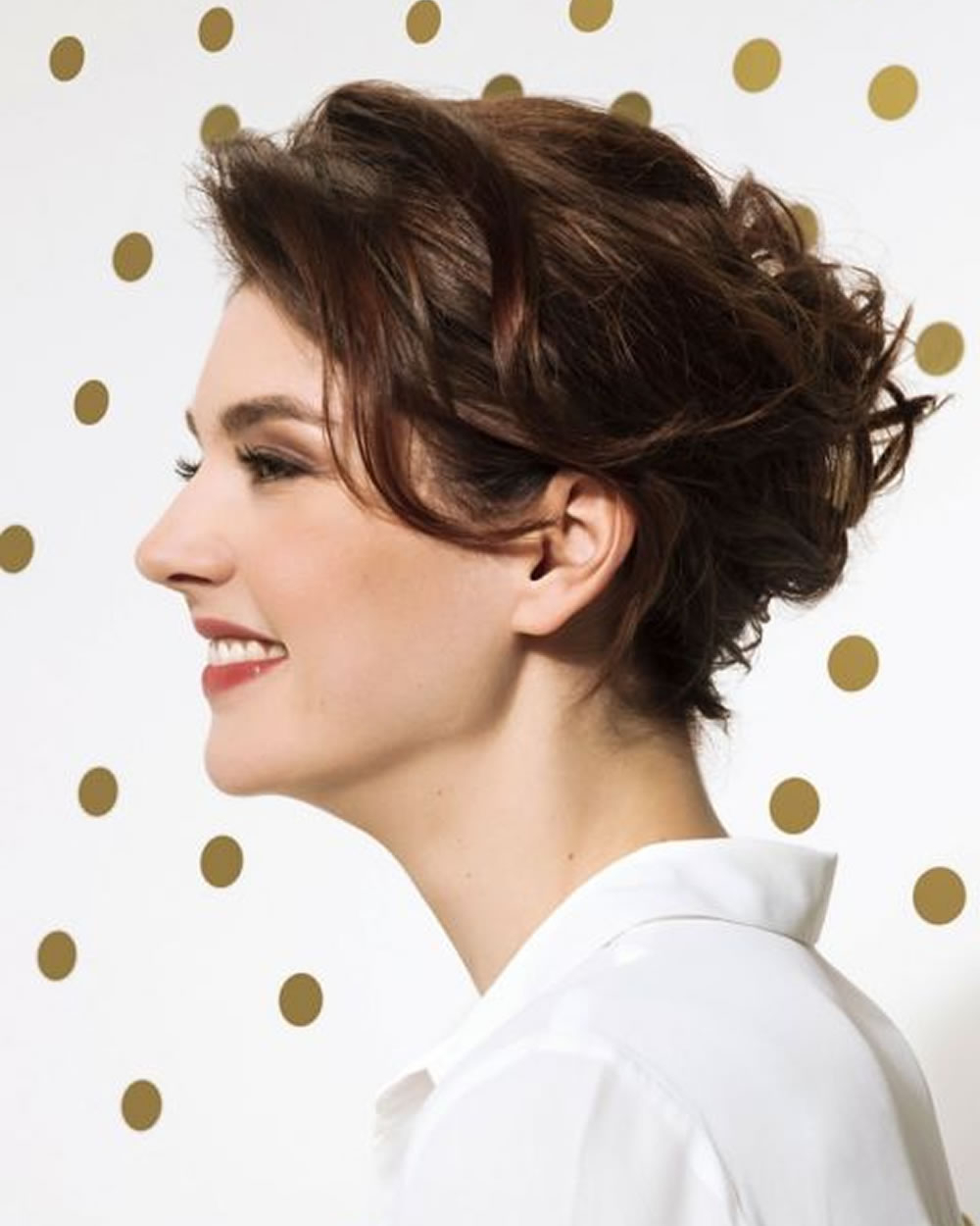 Hey Ladies! Best 13 Short Haircuts For Round Faces Inspirations You Throughout Short Girl Haircuts For Round Faces (View 14 of 25)