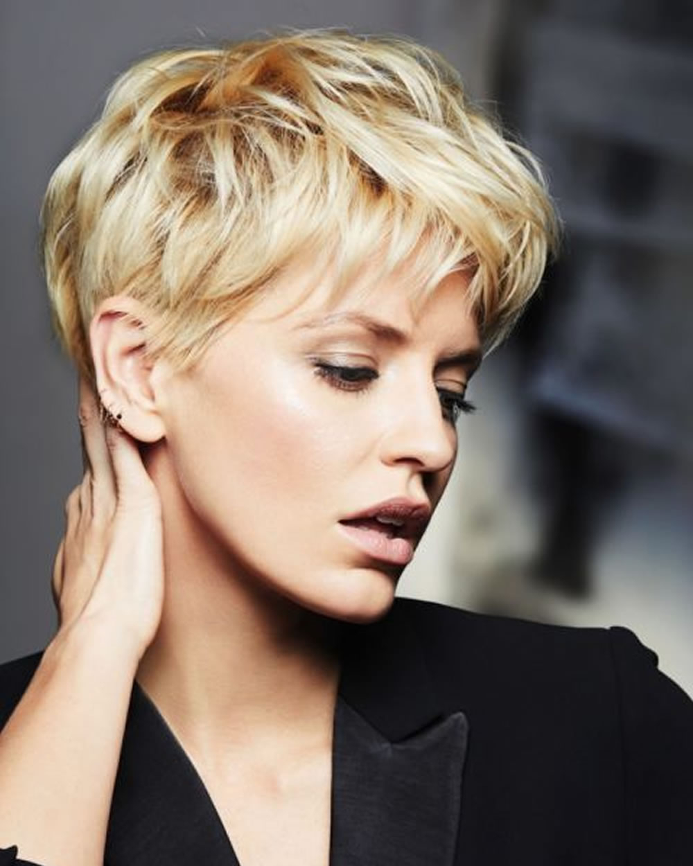 Hey Ladies! Best 13 Short Haircuts For Round Faces Inspirations You With Regard To Super Short Hairstyles For Round Faces (View 15 of 25)