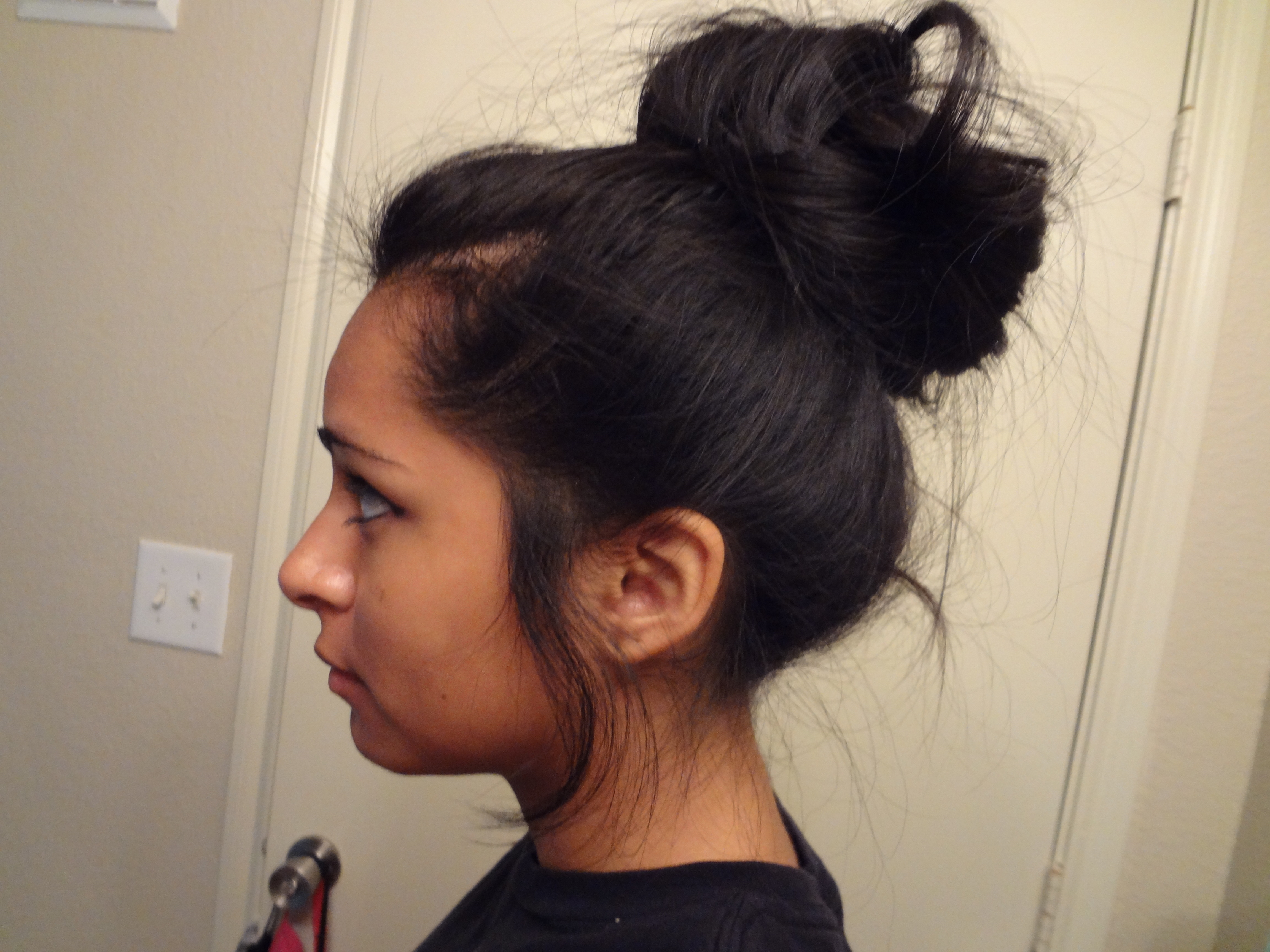 High Bun For Girls With Freaking Long Hair! (Like Me~) – Cilla44 Pertaining To Shorter Black Messy Hairstyles (View 6 of 25)