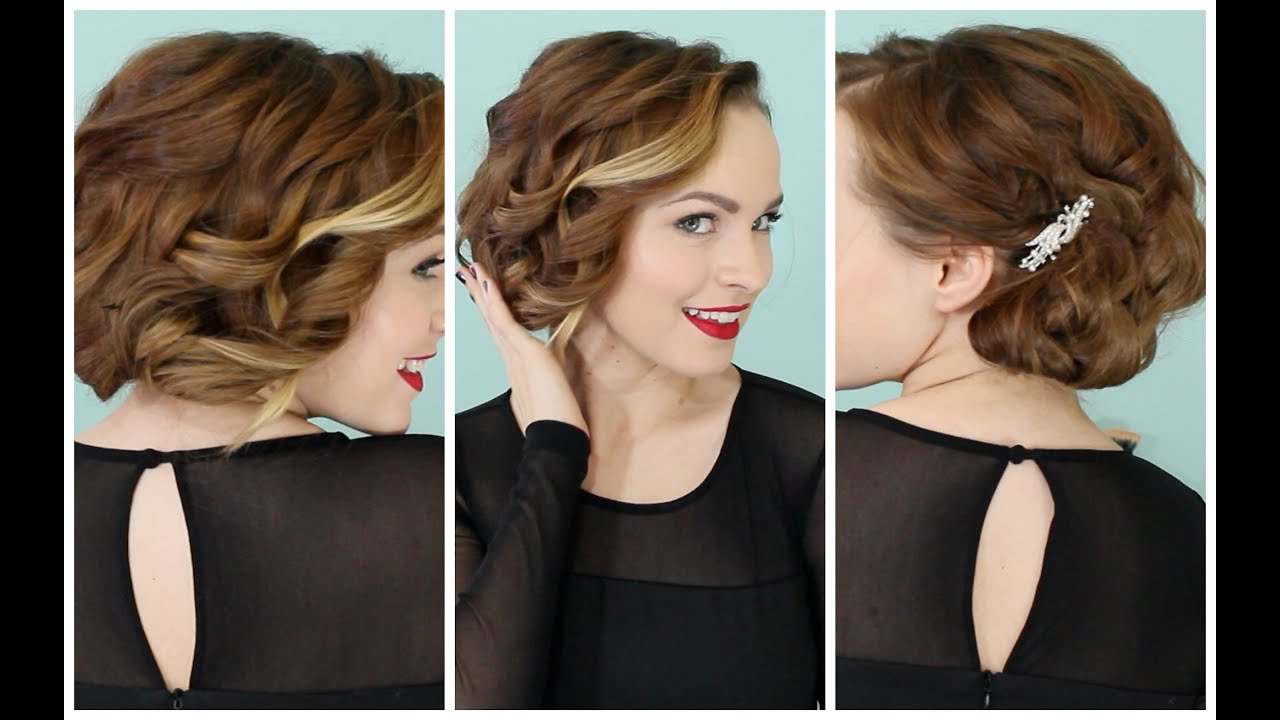 Holiday Faux Bob – No Teasing Required :d! – Youtube Regarding Teased Short Hairstyles (View 10 of 25)