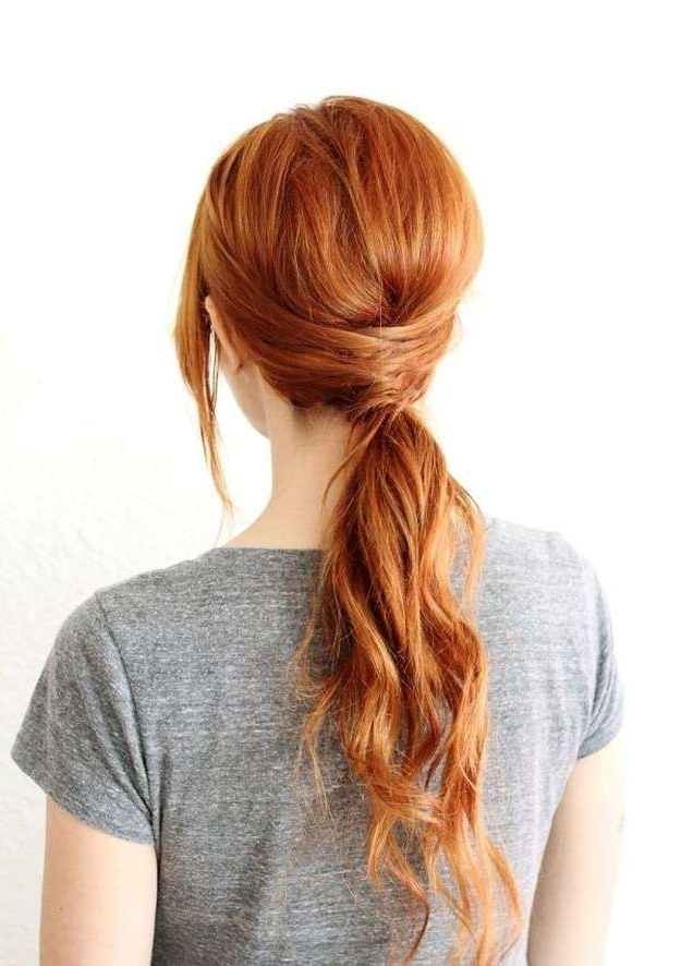Homecoming Dance Hairstyles Inspiration Perfect For The Queen Intended For Tangled And Twisted Ponytail Hairstyles (View 6 of 25)
