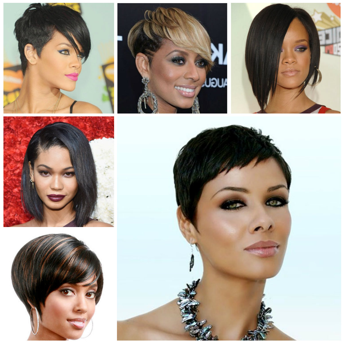 Homecoming Hair Tutorials With Reference To Awesome Short Hairstyles For Short Hairstyles For Black Women With Oval Faces (View 19 of 25)