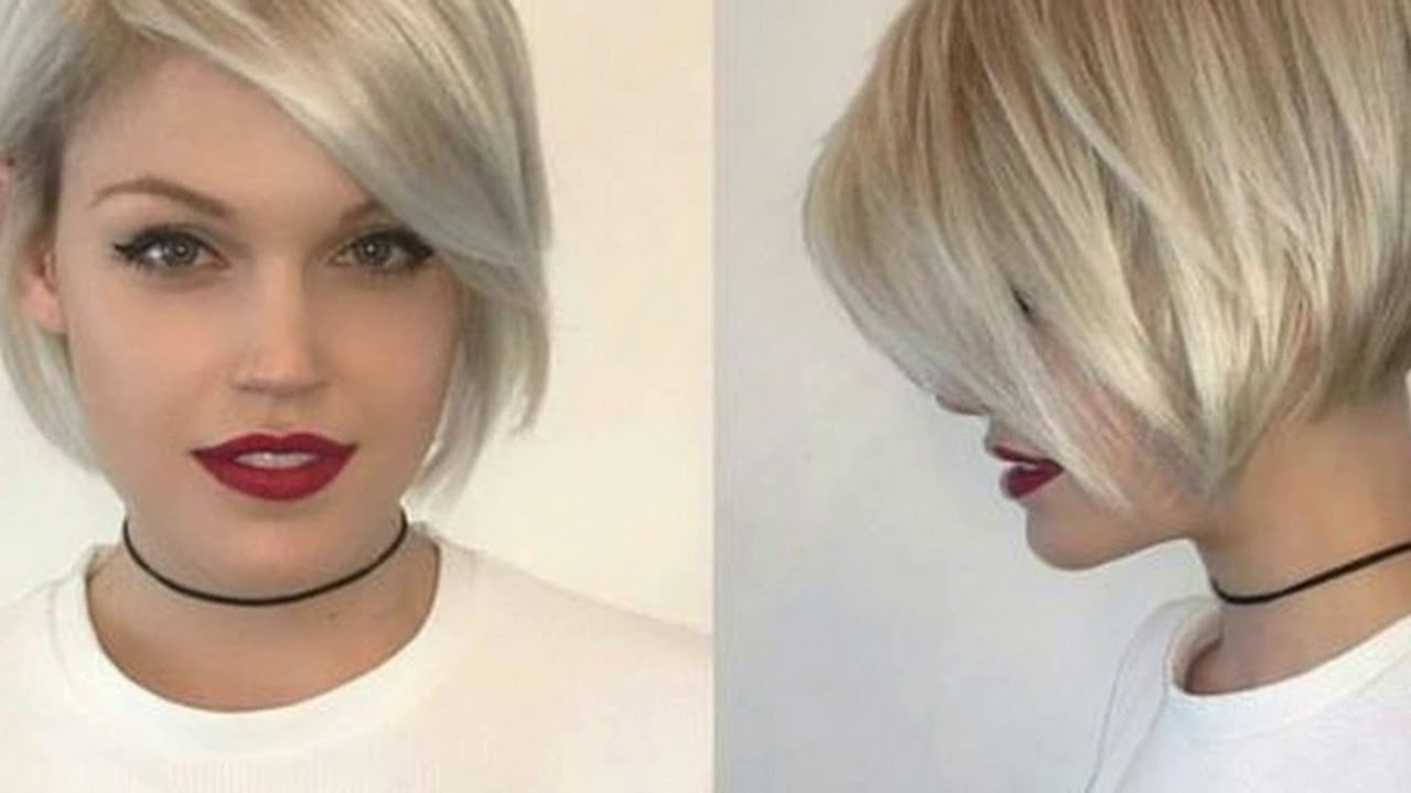 Hot News !!! 20 Best Short Hairstyles With Side Bangs Spring Spring Pertaining To Short Hairstyles For Spring (View 17 of 25)
