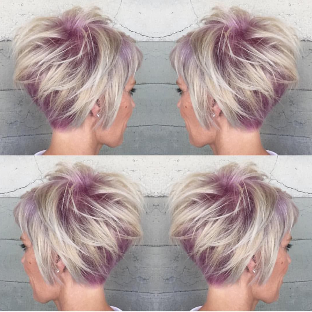 Featured Photo of Sassy Short Haircuts For Thick Hair