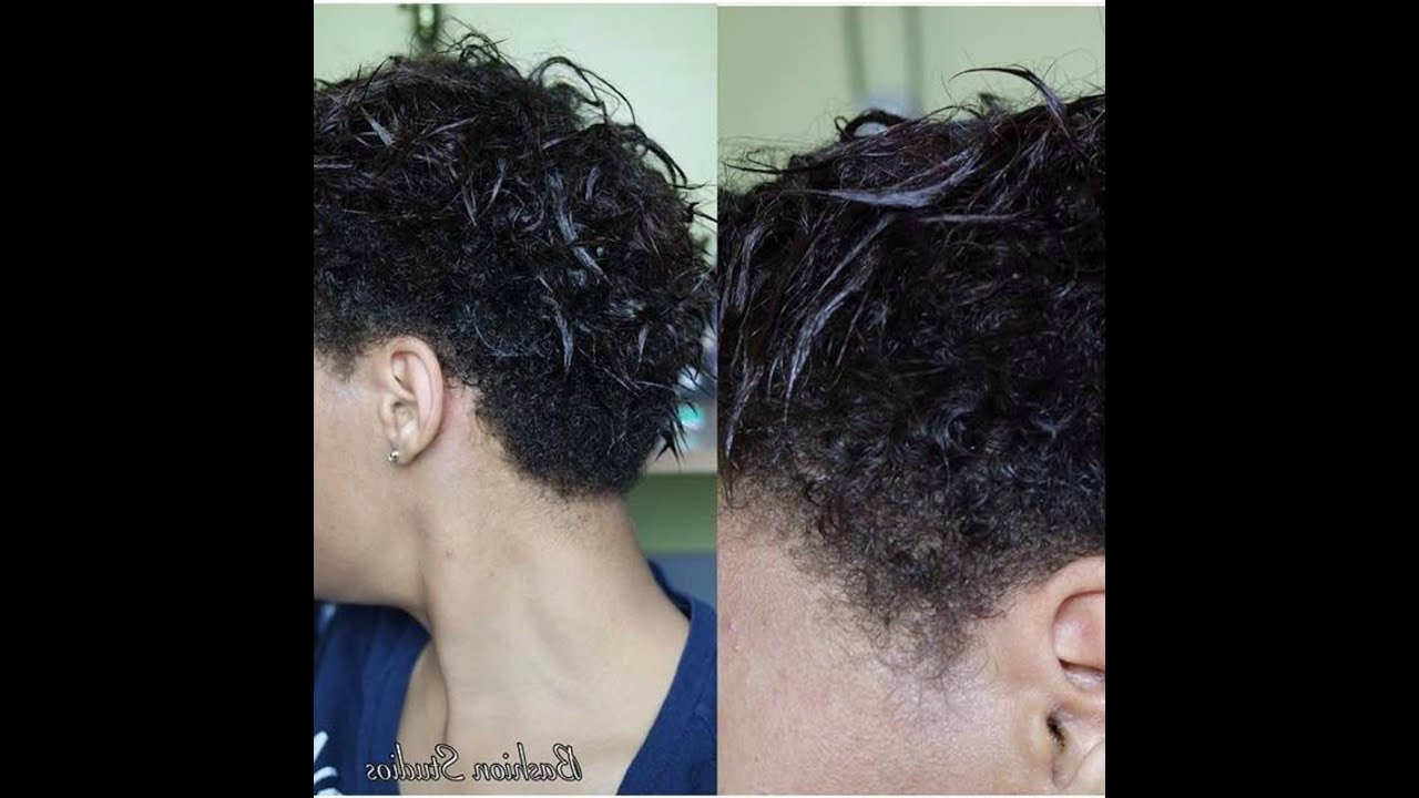 How I Wash My Transitioning Short Hair I Des Paggee ? – Youtube Inside Short Haircuts For Transitioning Hair (View 10 of 25)