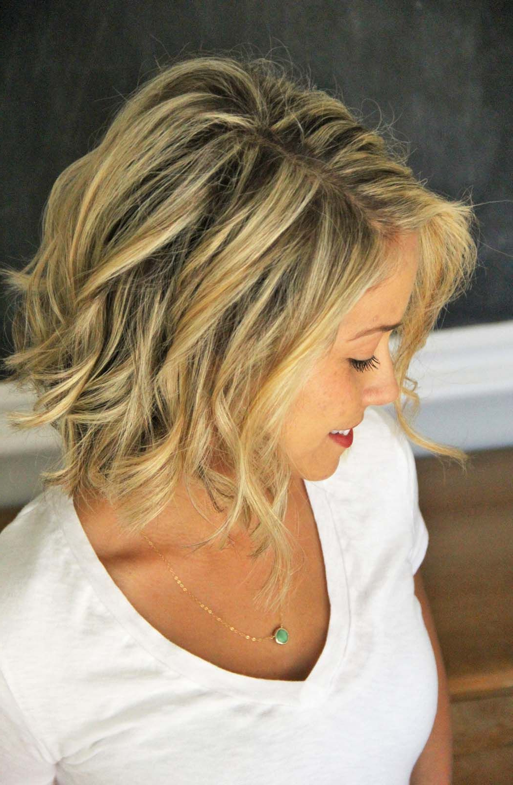 How To: Beach Waves For Short Hair | Hair | Pinterest | Beach Waves With Regard To Beach Hairstyles For Short Hair (View 11 of 25)