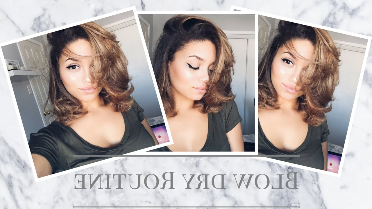 Featured Photo of Blow Dry Short Curly Hair