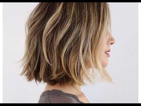 How To: Cut A Layered Bob Haircut Tutorial – Youtube For Undercut Bob Hairstyles With Jagged Ends (View 11 of 25)