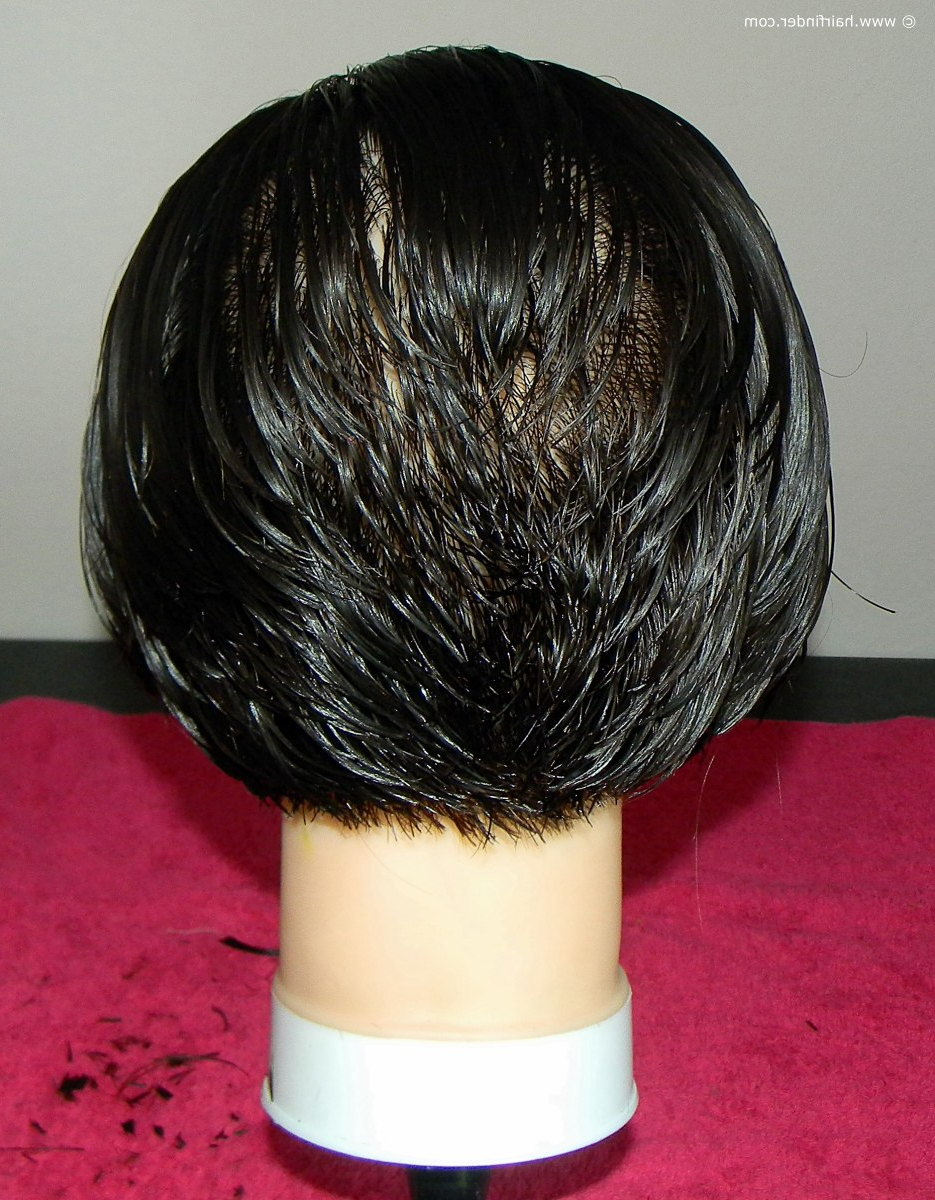 How To Cut A Short Inverted Bob Or Angled Bob With Regard To Inverted Bob Short Haircuts (View 13 of 25)