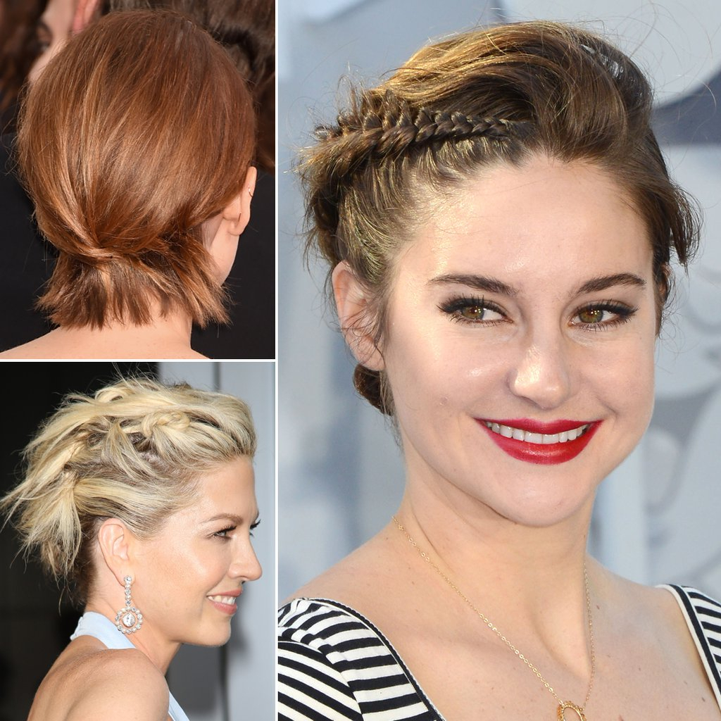 How To Do Updos For Short Hair And Bobs | Popsugar Beauty Australia With Short Hairstyles For Work (View 21 of 25)