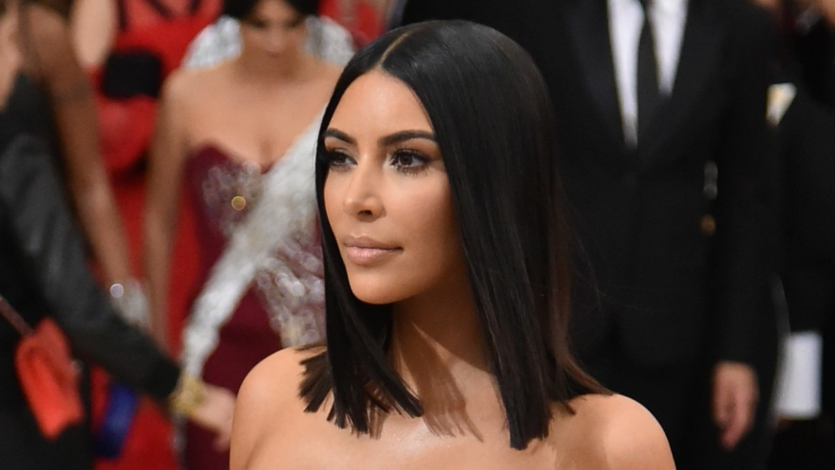 How To Get Kim Kardashian's Stick Straight, 2000S Girl Hair With Regard To Kim Kardashian Short Hairstyles (View 8 of 25)