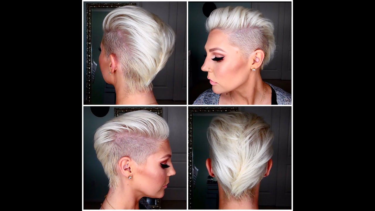 How To Get & Maintain Short Platinum Blonde Hair – Youtube For Platinum Blonde Short Hairstyles (View 8 of 25)