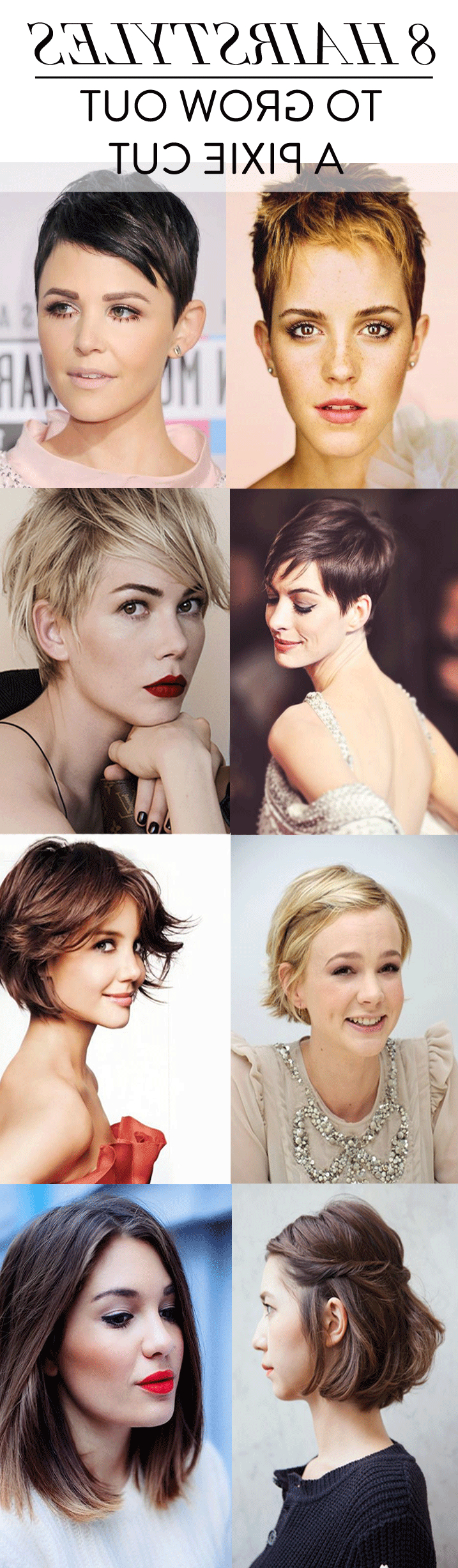 How To Grow Out A Pixie Cut | Charmingly Styled Within Short Hairstyles For Growing Out A Pixie Cut (View 5 of 25)