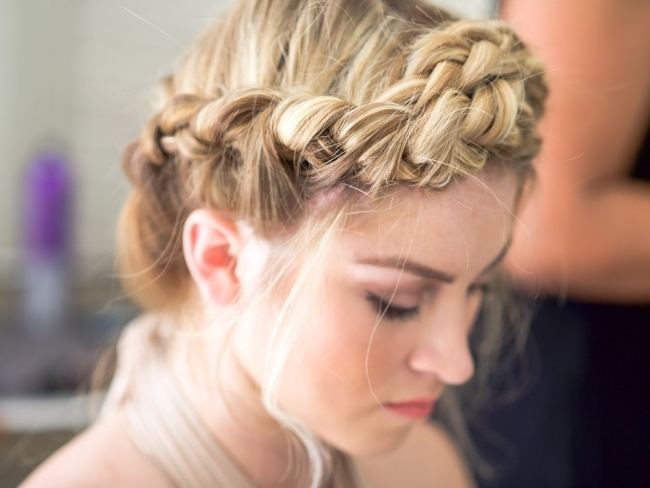 How To Make Your Hair Look Amazing All Day At The Beach Or Pool For Beach Friendly Braided Ponytails (View 19 of 25)