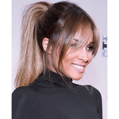 How To: Perfectly Undone Ponytail – Behindthechair Intended For Artistically Undone Braid Ponytail Hairstyles (View 18 of 25)