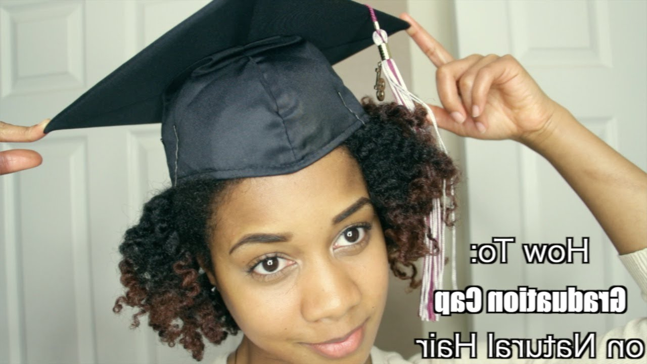 How To Put A Graduation Cap On Natural Textured Hair (View 3 of 25)